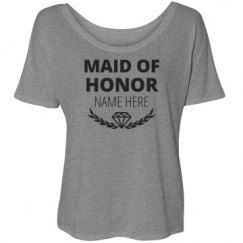 Maid Of Honor Laurel Diamond