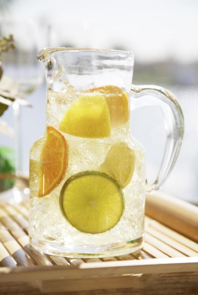 This Sangria recipe maximizes the fruit content and adds a new twist, using a white wine, instead of the traditional reds (however, if you are a red wine fiend - feel free to still use your favorite red). Buckle-up for a fruit-punch like flavor that is perfect for a backyard BBQ this summer.