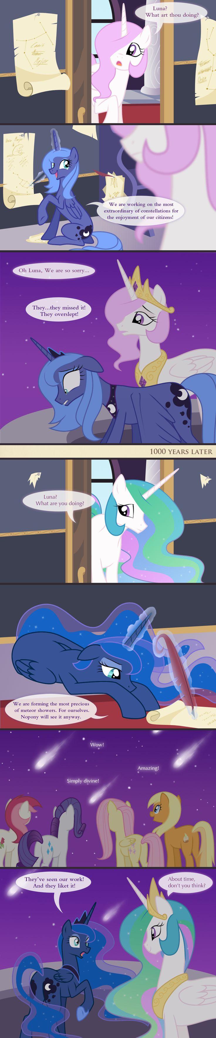 Poor Luna, she gets little love.