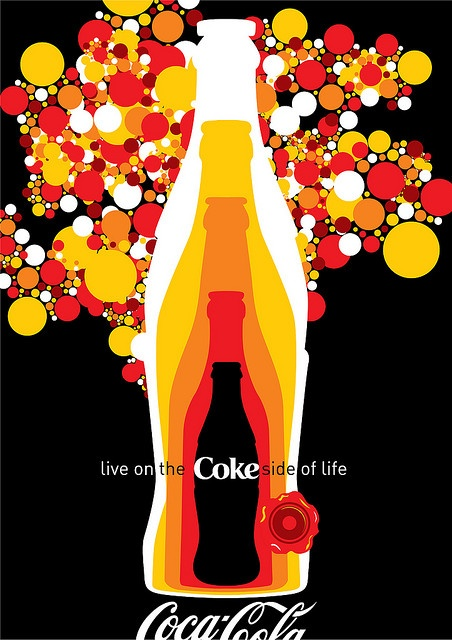 Coke Side of Life: Coca-Cola Art Remix by Coca-Cola Art Gallery, via Flickr