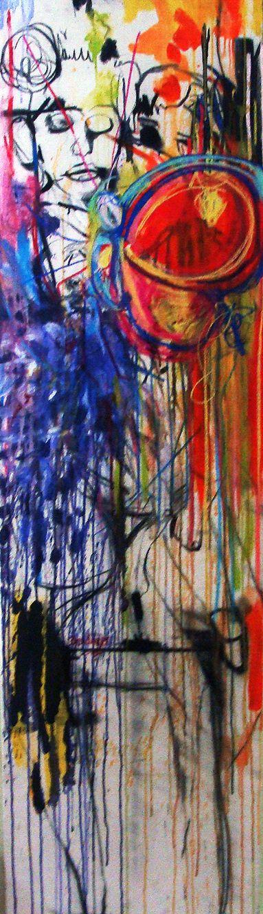 Sin título 180x50 cm Pintura 2017 *Disponible