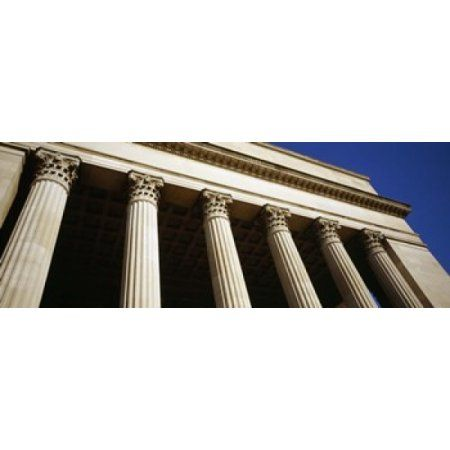 Low angle view of a building 30th Street Station Philadelphia Pennsylvania USA Canvas Art - Panoramic Images (15 x 6)