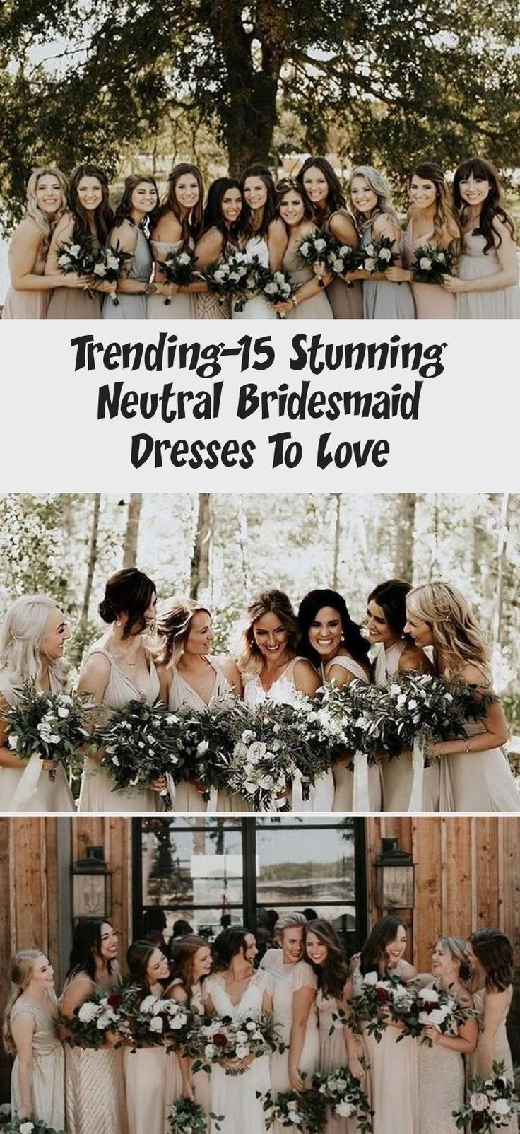 neutral champagne bridesmaid dresses #obde #weddingideas2019 #LilacBridesmaidDresses #LavenderBridesmaidDresses #BridesmaidDressesMidi #BridesmaidDressesCoral #SageBridesmaidDresses