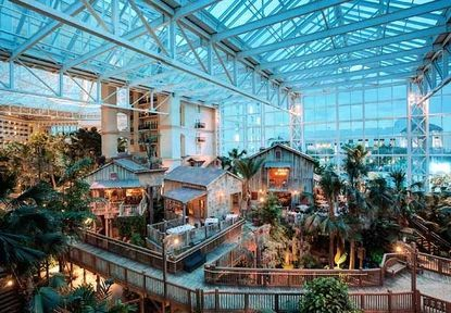 The Lord Palms Resort And Spa In Orlando Is A Unique Destination Hotel Stunning 4½ Acre Atrium Of This Showcases Three Region