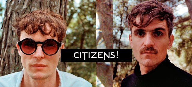 Citizens! Ochenteros, electrónicos y muy pegadizos