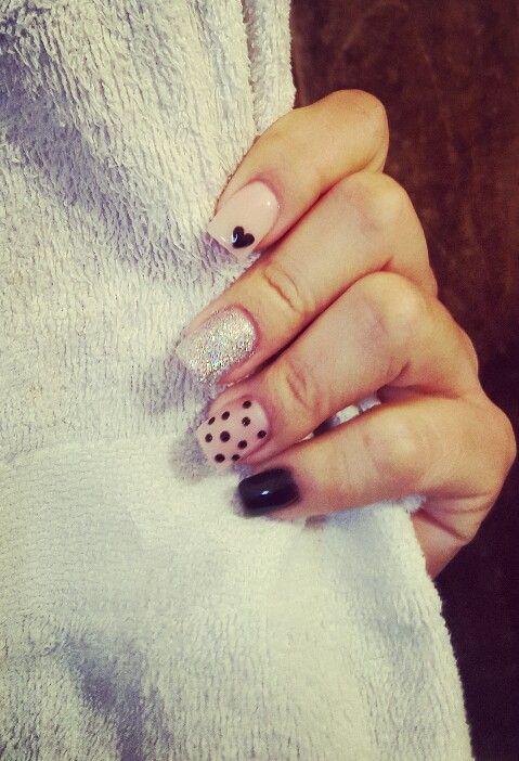 gelish nails  #nails #gelish #uñas #acrilicas