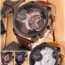 Military Men's Watch Sport Stainless Steel Waterproof Quartz Wrist Watch reloj