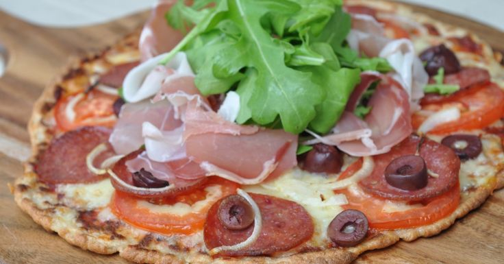 LCHF Fat Head Pizza