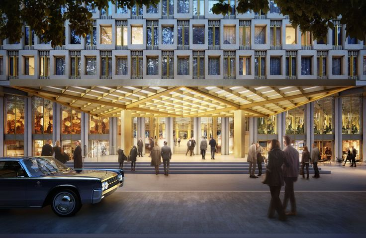 Real estate and property news, just for you!    Hotel plan to convert US Embassy  Imagine the US Embassy in London. A small piece of American territory in England with all its secrets. And tomorrow, a hotel with 137 rooms. It is the crazy project of an architect. This will also include a spa,