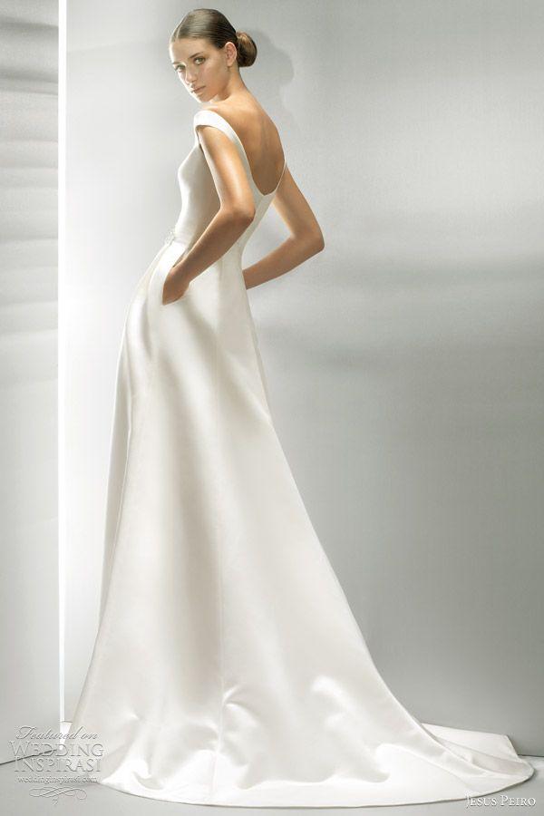 http://weddinginspirasi.com/2011/09/02/jesus-peiro-2012-wedding-dresses/ : simple #wedding dresses