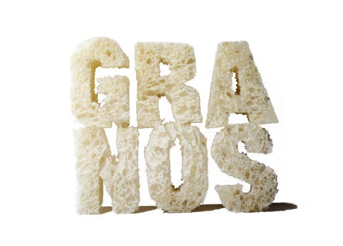 Food-Type Tipografía comestible