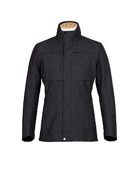 The Laminated wool Jacket from Alchemy Equipment has an Italian wool blend outer is laminated to a high performance weather proof membrane, tailored to an athletic fit block, lined it with soft Pertex® Microlight ECO and a laser cut, stitch-free waterproof hood is the zipped away into the collar. Features: slimmer fitting style. Buy Now: http://www.outsidesports.co.nz/brands/alchemy-equipment/AYAEM006/Alchemy-Equipment-Wool-Jacket-men's.html#.VYkKG_mqpBc