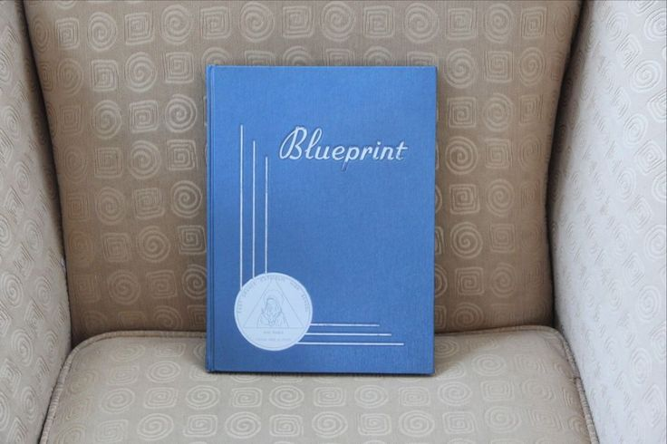 "East Orange NJ Catholic High School Yearbook Class of 1962 ""Blueprint"""