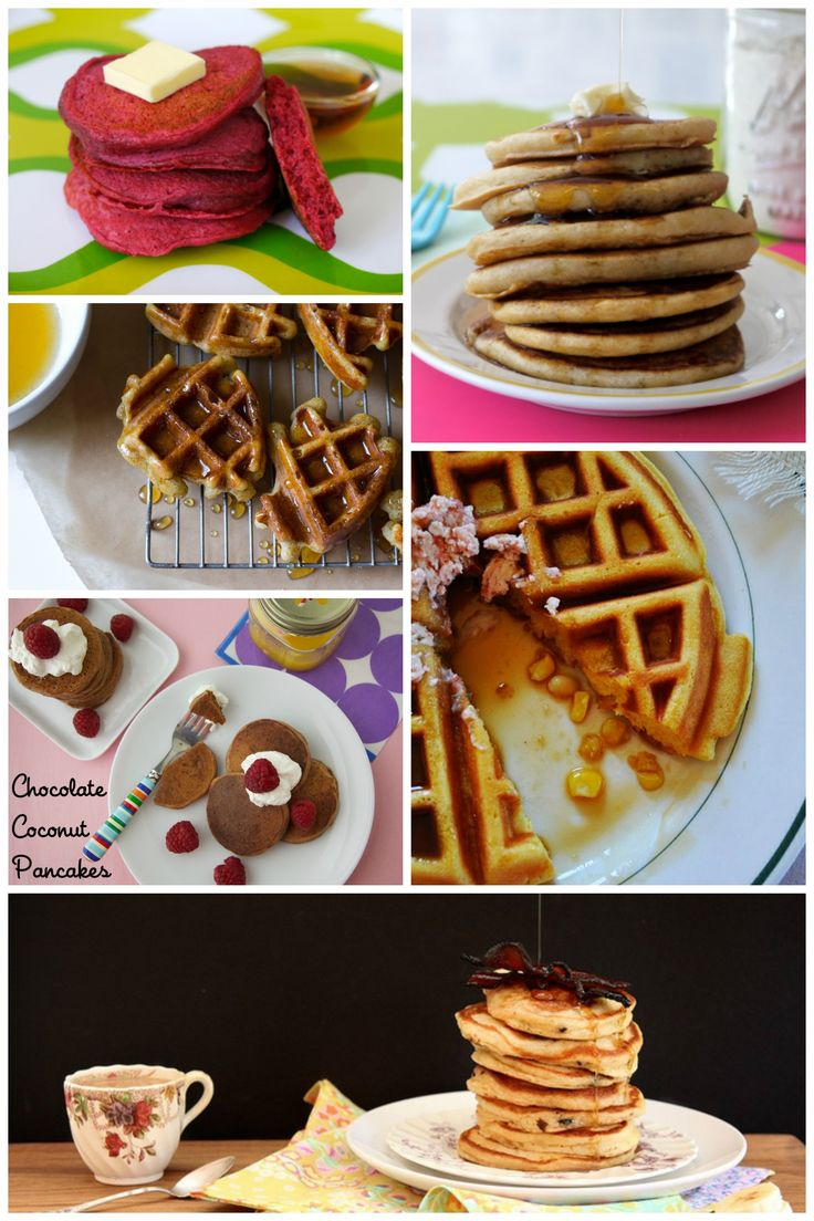 12 Pancakes and Waffles to Make You Happy!