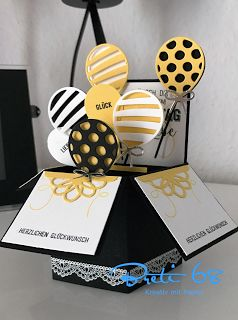 breti68 - Kreativ mit Papier: Stampin'Up - Ballonparty zum Geburtstag