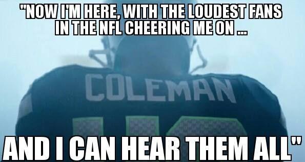 derreck coleman Seahawks Quotes | Seattle Seahawks Derrick Coleman first deaf NFL player