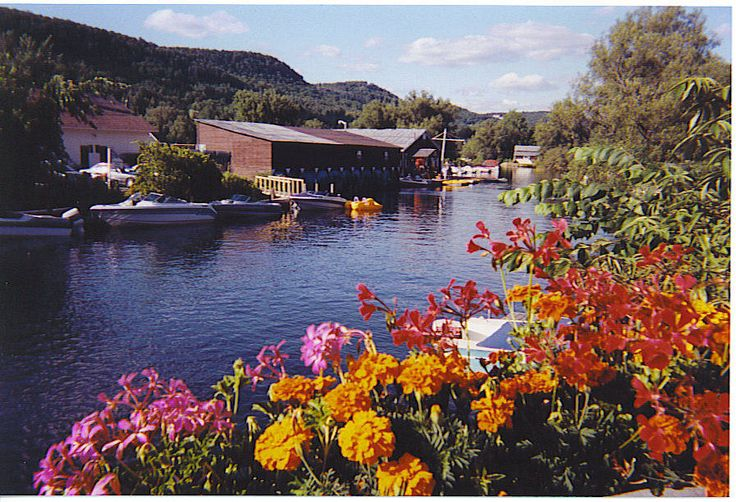 North Hatley in the Eastern Townships Quebec, Canada