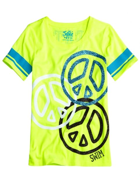 Front Back Sports Graphic Tee | Girls {category} {parent_category} | Shop Justice