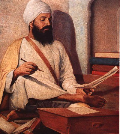 Bhai Santokh Singh (1787 - 1843) was a poet and historian, born on 8 October 1787 at the house of Bhai Deva Singh and Bibi Rajadi  of Nurudin village, of Tarn Taran in Amritsar district of the Punjab.