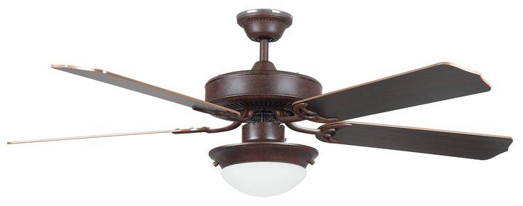 "South Shore Decorating: Concord Fans 52HEF5ERB-ES Heritage Fusion 52"" Energy Star Transitional Ceiling Fan CC-52HEF5ERB-ES"