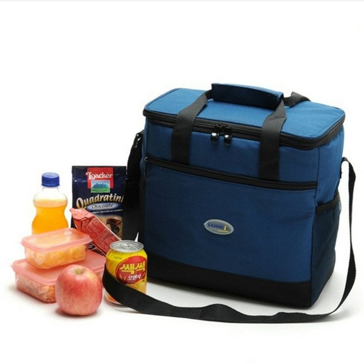 SUMCOO Large Folding Portable Freezing Cooler Lunch Bag For Fruit Take Out