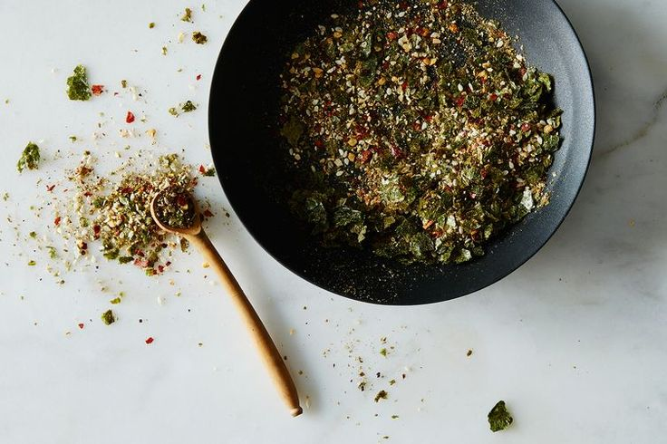 Togarashi Blend recipe on Food52 - cover carrot patties with this & sesames