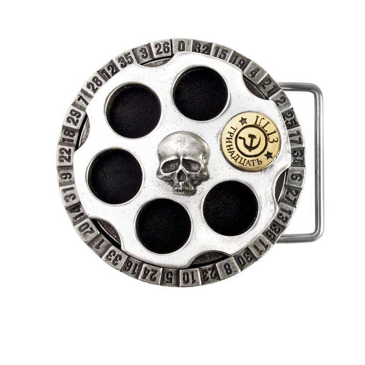 Russian Roulette Buckle
