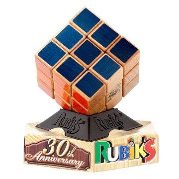 Rubik's cube en bois - 30e Anniversaire