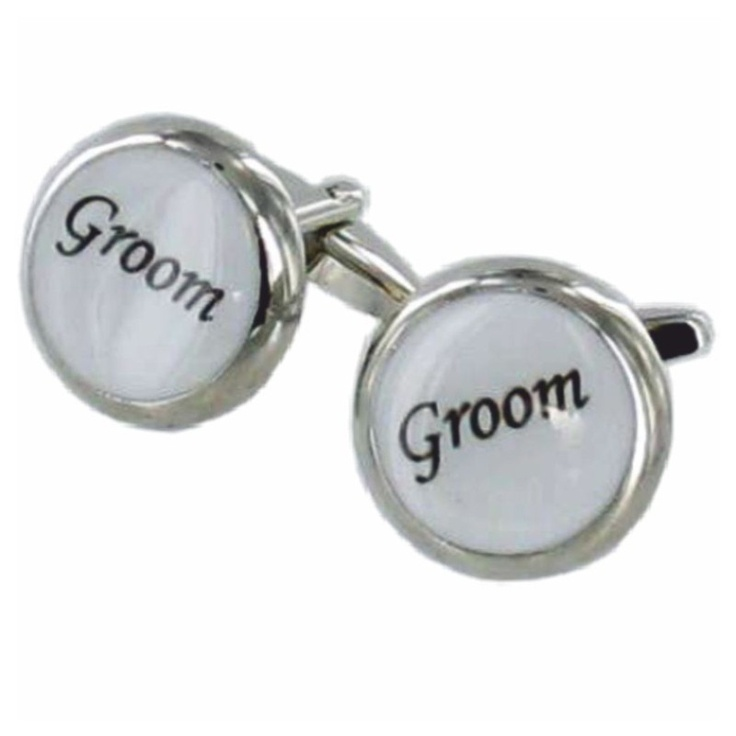 National Engravers - Wedding Cufflinks Groom with Faux Leather Box, £9.99 (http://www.national-engravers.co.uk/products/wedding-cufflinks-groom-with-faux-leather-box.html)