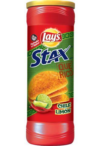 LAY'S STAX® Que Rico Chile Limón Flavored Potato Crisps