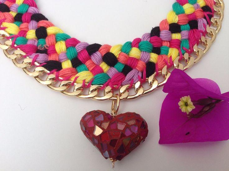 collares mexicanos artesanales - Buscar con Google