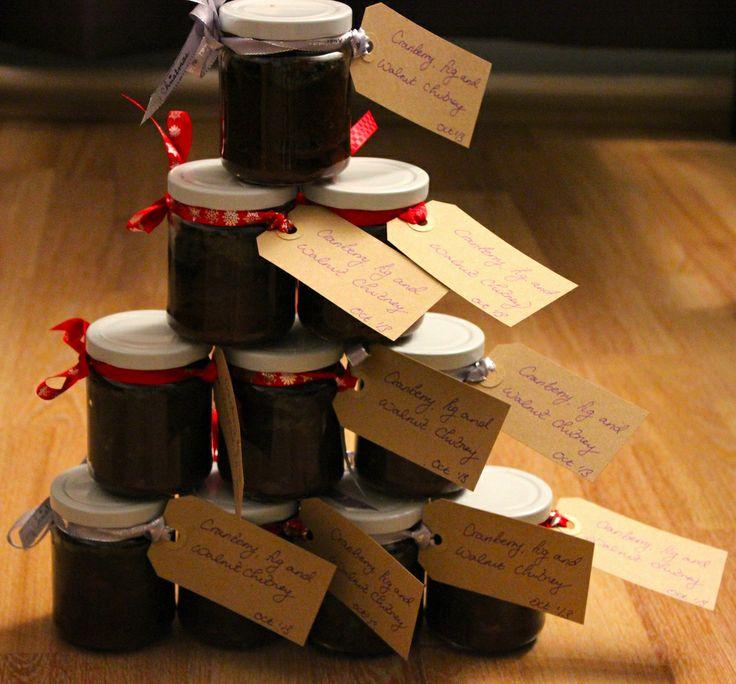 christmas hamper recipes, home made, DIY, chutney, Christmas gift ideas