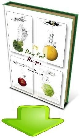 raw food recipes. in English.