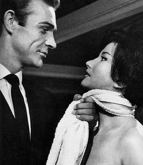 Sean Connery - Bond, 'Dr. No', 1962.