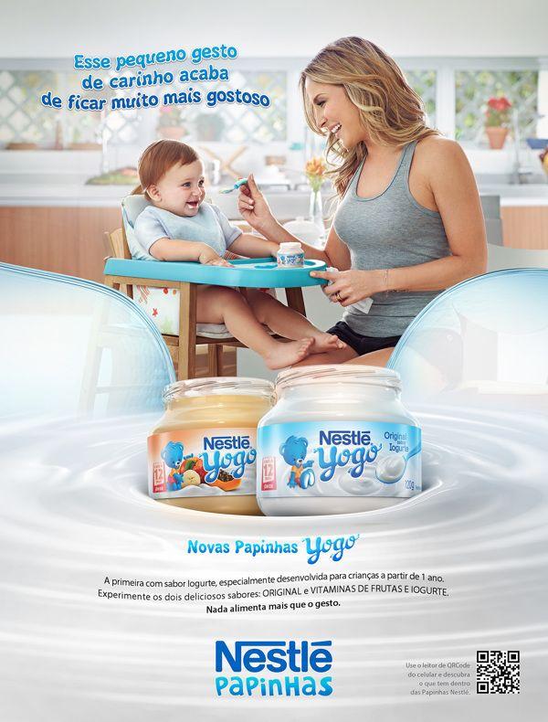 Nestle Papinhas Advertising on Behance