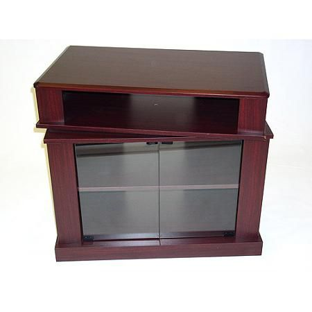 "Cherry TV Stand with Swivel Top, for TVs up to 32"" - Walmart.com"