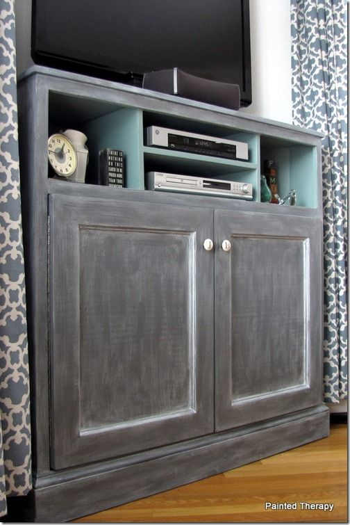 painted therapyget out of the way of the tv console
