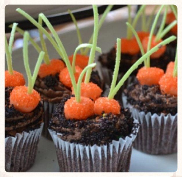 Carrot cupcakes
