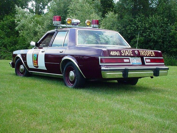 dodge diplomat police car for sale | MN Minnesota State Patrol 1985 Dodge Diplomat