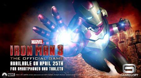 Segundo tráiler del videojuego oficial sobre Iron Man 3 para Android