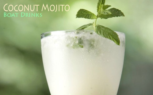 Coconut Mojito recipe from a well-known Kenny fan; you know that is going to work out well!