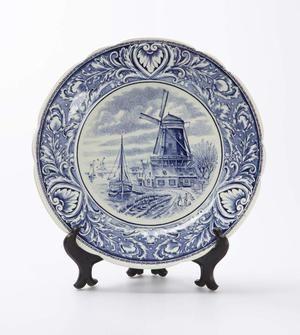 Windmill Plate
