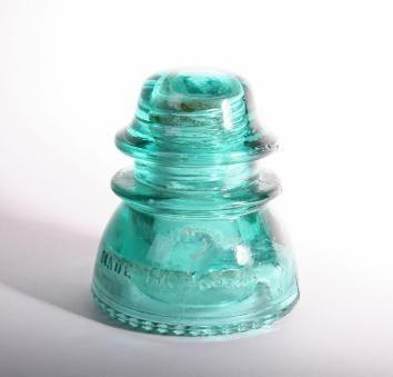 Antique Glass Insulators  http://antiques.lovetoknow.com/Antique_Glass_Insulators#