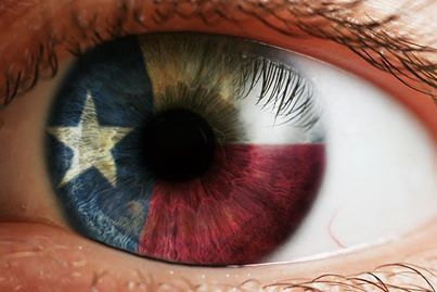 """""""The eyes of Texas are upon you!""""  Photographer unknown"""