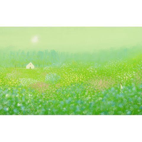 葉祥明 アートグラフ【妖精の棲む森】太子サイズ