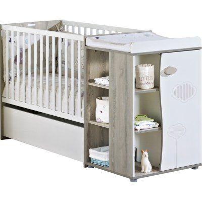 Lit chambre transformable 60x120 en lit junior 90x190 nael Sauthon meubles
