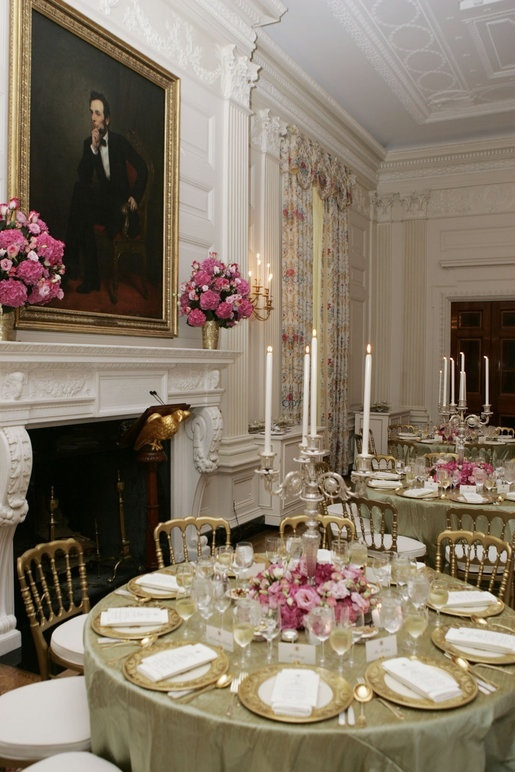 White House State Dining Room Love The Portrait Of