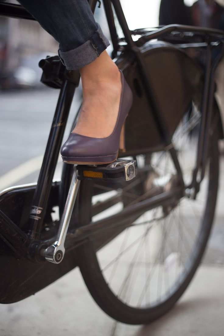 Comfy Heels, which you can take on your next bike ride