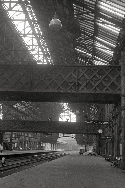 Nottingham Victoria station 1967.