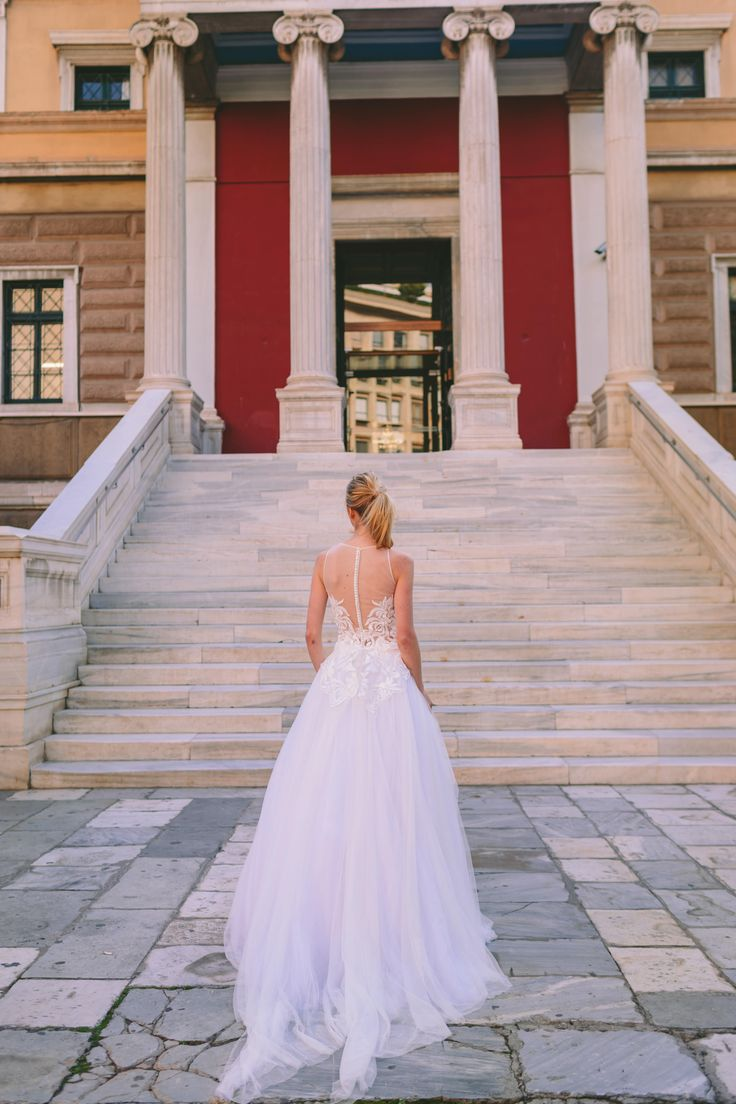 Romantic bridal fashion! Anem Collections. Dreamy bridal fashion in an amazing styleshooting in the city in the heart of Athens! Amazing bridal creations and beautiful brides! www.anemcollections.gr